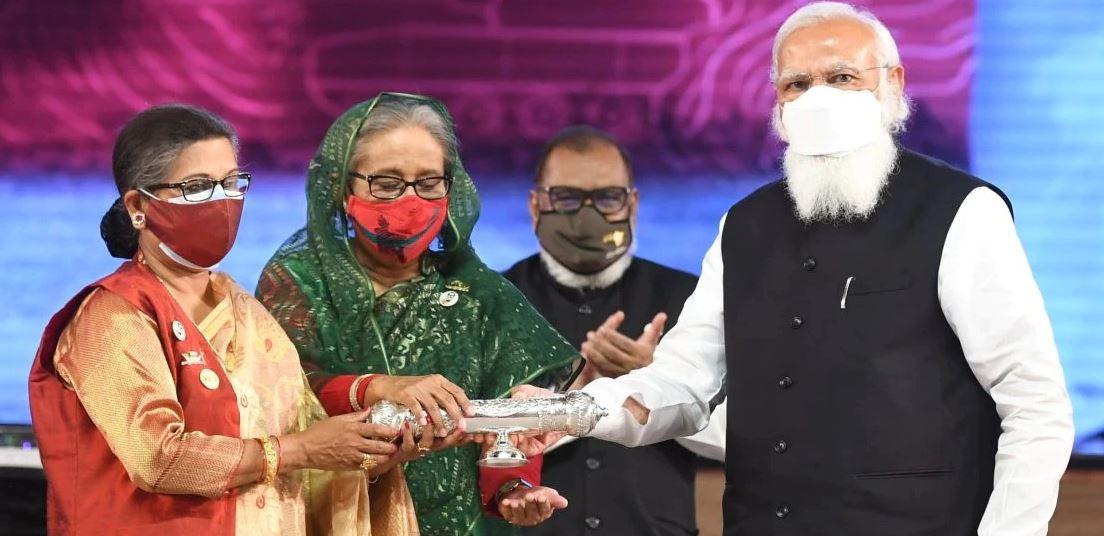 PM Modi attends the National Day Program of Bangladesh