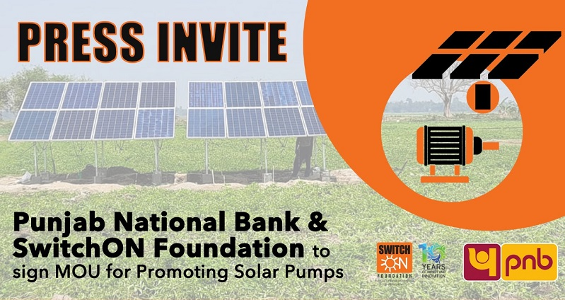 PNB Signs MOU with SwitchON For Solar Pump Financing