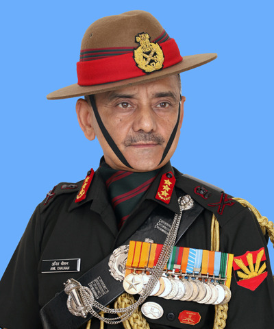 LT GEN ANIL CHAUHAN RELINQUISHES COMMAND OF EASTERN COMMAND
