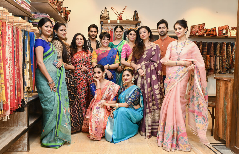 Live Fashion Showcase at Nameg Presenting the Vibrant Colours of Monsoon
